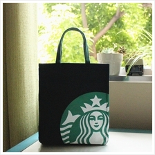 Limited Edition Authentic Japan Starbucks Tote Bag black