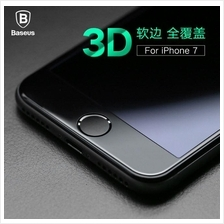 APPLE IPHONE 7 & 7 PLUS 3D FULL CURVE SOFT PET BASEUS Tempered Glass