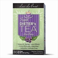 Super Diet Tea Acai Berry ( Burn Fat, No Stimulant) 30 bags rm60