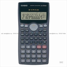 CASIO FX-570MS Scientific Calculator 2-Line Display STAT-data Matrix