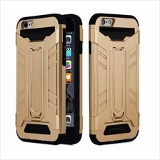 IPHONE 7 5 5S SE 6 6S & S7 EDGE Standable Tough Case with Card Holder