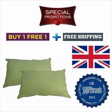 Free Shipping + Free Gift Buy 1 Free 1 Silentnight Cotton Pillow