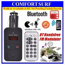 Car Wireless Bluetooth Hands-free Kit MP3  / WMA Player FM Transmitter