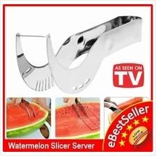 Stainless Steel Watermelon Slicer Knife Cutter Server Corer Tool