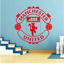 Manchester United Football Club Vinyl Wall Stickers Removable