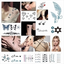 287 Design Temporary Tattoo Body Art Hand Waterproof Elegant Sticker 1