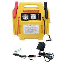 12V PORTABLE CAR JUMP STARTER AIR COMPRESSOR BATTERY START BOOSTER)