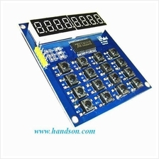 TM1638 8-Digit Display + 16-Key Module : Best Price in Malaysia