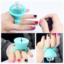 Silicone Nail Polish Holder (3 Colours Available)
