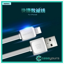 Remax Lightning IOS USB Data Sync Flat 2.1A Charging USB Cable