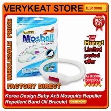 Korea Design Baby Anti Mosquito Repeller Repellent Band Oil Bracelet