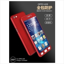 OPPO A3S F7 F9 A83 F1S Neo7 9 A37 A57 360 FULL Tempered Glass Case