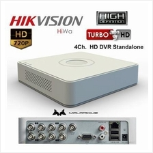 HIKVISION CCTV HD Turbo 4Ch. DVR Standalone (Portable)