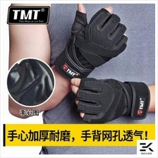 TMT Fitness Lifting Protection Training Gym Gloves (W13/W26)
