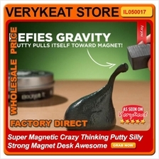 Super Magnetic Crazy Thinking Putty Silly Strong Magnet Desk Awesome