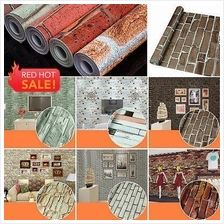 32 Design Imitation brick 3D Self Adhesive PVC Waterproof Wallpaper