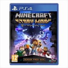 [0% GST] Ps4 Minecraft:Story Mode R1