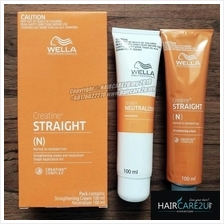 100ml Wella Straight IT Hair Cream Ubat Lurus Rambut Wellastrate