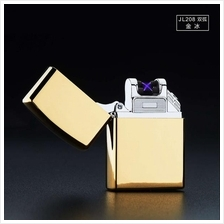 Electric Lighter Dual Arc Rechargeable Flameless USB Charging