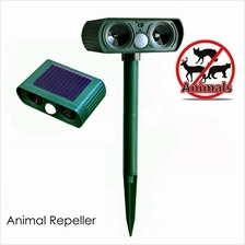Ultrasonic Solar Power Pest Cat Dog Birds Repeller