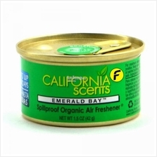 California Scents Emerald Bay Car Air Freshener Made in USA