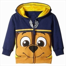 Kids / Childrens Paw Patrol Hoodie Sweatshirts Jacket For Ages 2Y - 5Y