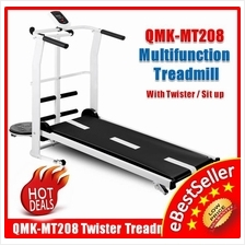 QMK-MT208 Multifunction Gym Home Treadmill ,Twisting + Sit Up Exercise