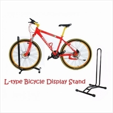Bicycle Bike Wheel Holder Rack Display Parking Hanger L Stand