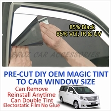Toyota Alphard 2003-Present Magic Tinted Solar Window (6 Window) 85%