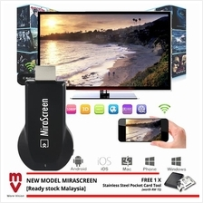 MiraScreen TV Stick Screen Mirroring DLNA Airplay Miracast Chromecast