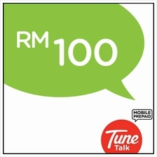 Tune Talk RM100 Prepaid Reload/Online Top Up/free 2GB data