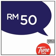 Tune Talk RM50 Prepaid Reload/Online Top Up/free 2GB data