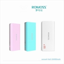 Original Romoss Sense 4 LED 10400mah Power Bank