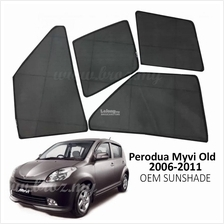 Custom Fit OEM Sunshades/ Sun shades for Perodua Myvi 2006-2011 4PCS