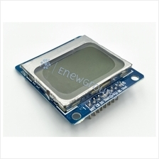 Liquid crystal display (LCD) module (Nokia 5110 model, 84*84 pixel)