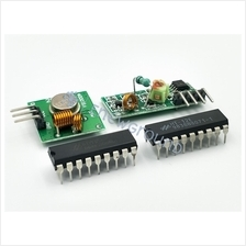 Radio frequency (RF) module (433MHz, transmitter and receiver)