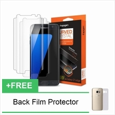 Spigen Galaxy S7  & Edge 3D Full Screen Protector Curved Crystal HD [C