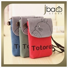 Totoro Fabric Wristlet Sling Bag Smartphone Mobile Pouch