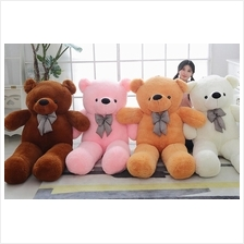 Teddy Bear 0.6m 0.8m 1.0m 1.2m 1.6m (FREE Wish Card + FREE Shipping)
