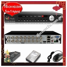 Qi Tech CCTV 16-CH HD Mobile / Network DVR CCTV Recorder * Apps Store*