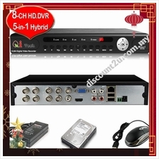 Qi Tech CCTV 8-CH HD Mobile / Network DVR CCTV Recorder * Apps Store *