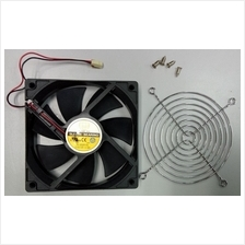 12cm Sleeve Bearing Casing Cooling Fan with Guard (Refurbished Unit)