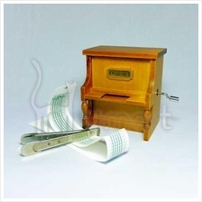 Musical Manual Upright Piano Music Box (play your own music)