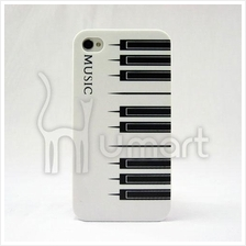 Piano Music black and white keys Apple IPHONE 4/4S Case