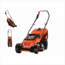 Black & Decker 1400W 34cm Electric Lawnmower FREE One Unit Humidifier