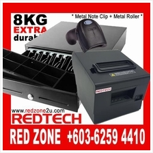 POS System HW: Cash Drawer + Thermal Printer + Barcode Scanner Reader