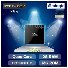 X96 TV BOX S905X Quad Core 1GB/2GB Ram 8GB/16GB Rom Android 6