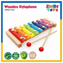 ZEEBE TOYS 8 Scales Wooden Xylophone Toy Musical Instruments Education