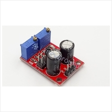Clock pulse module (NE555 timer, adjustable duty cycle and frequency)