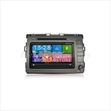 Toyota Estima ACR-50 Double Din Player With GPS - Silver